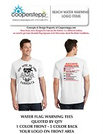 BEACH WATER AWARENESS TEES