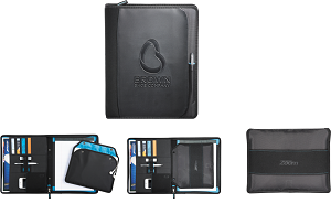 'NEW' Zoom 2-n-1 Tech Sleeve Zip Padfolio