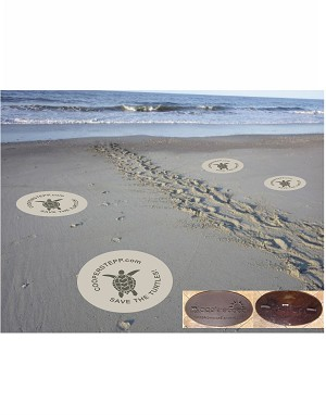 LOGO SAND STAMP, TURTLE SANDSTAMP