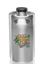 2 Liter Stainless Steel Mini Keg Growlers