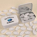 CUSTOM LOGO SHAPED MINTS