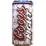 Mini Embossed Aluminum Beer Can Signs <Br> 6