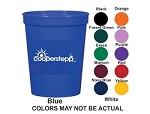 16 oz Colored Stadium Cup