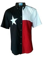 TEXAS FLAG MEN'S S/S SHIRT