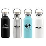 Oahu - 17 oz. Double-Wall Stainless Canteen Bottle