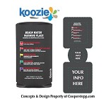 BEACH WATER AWARENESS KOOZIES